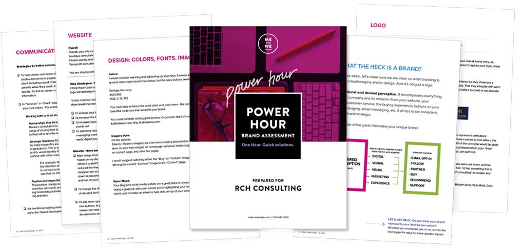 Power Hour Assessment Packet