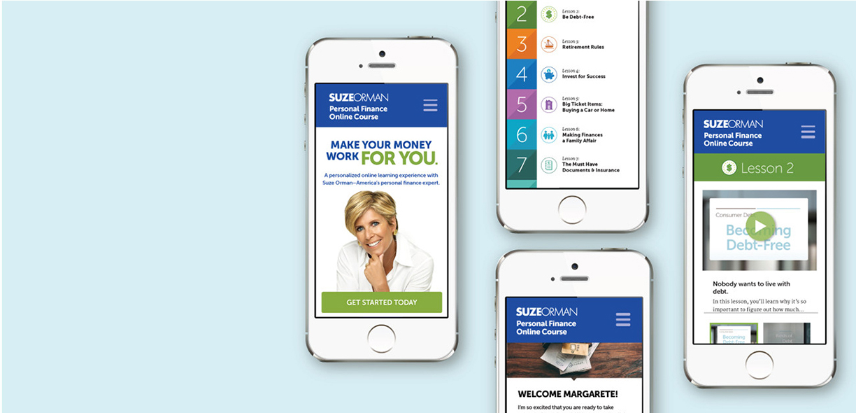 Our Work Slider - Suze Orman