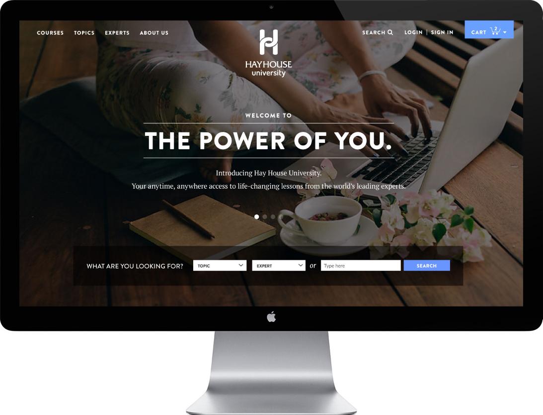 Hay House University - Desktop