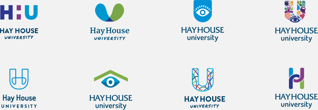 Hay House University - Logo Concepts