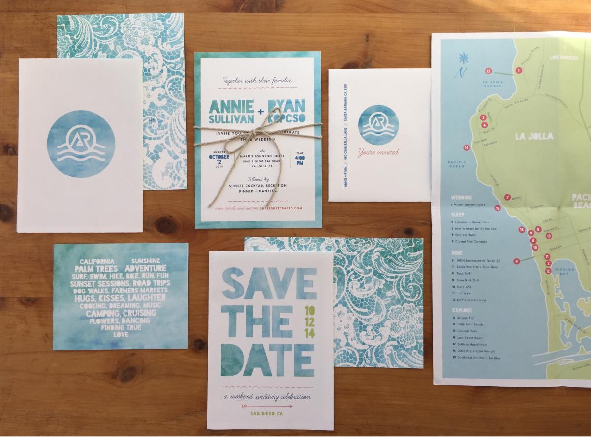 Annie + Ryan - Print
