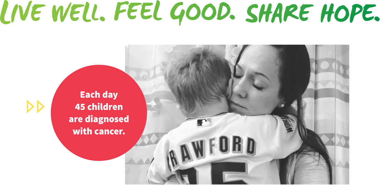 Live Well. Feel Good. Share Hope.